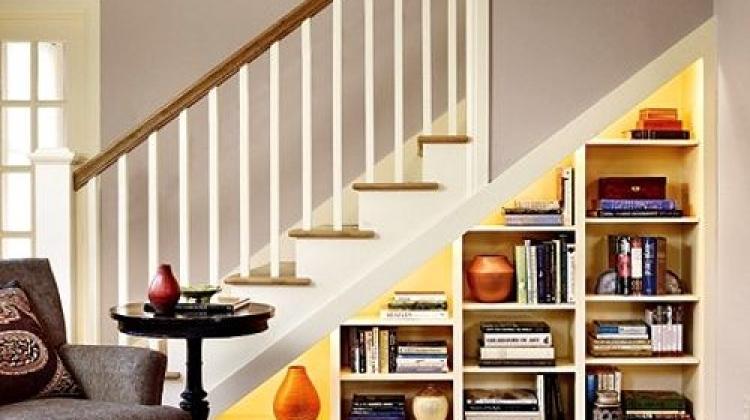 Merdiven boşluklarına özel dekorasyon fikirleri