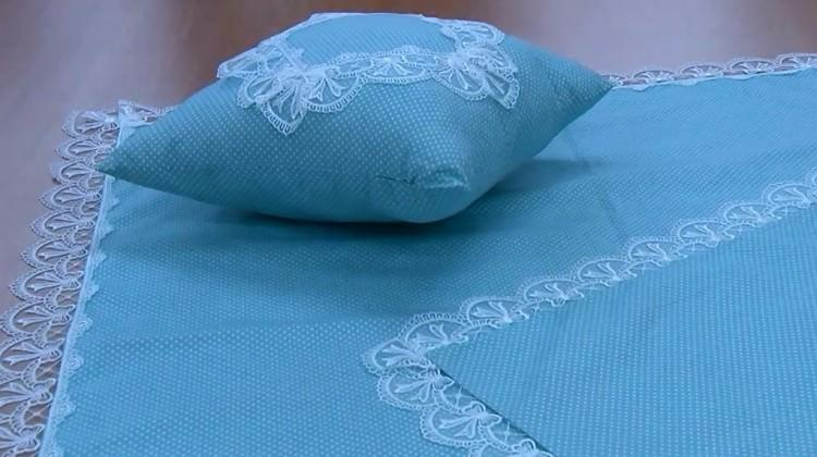 Yenidoğan bebeklere özel battaniye nasıl yapılır?