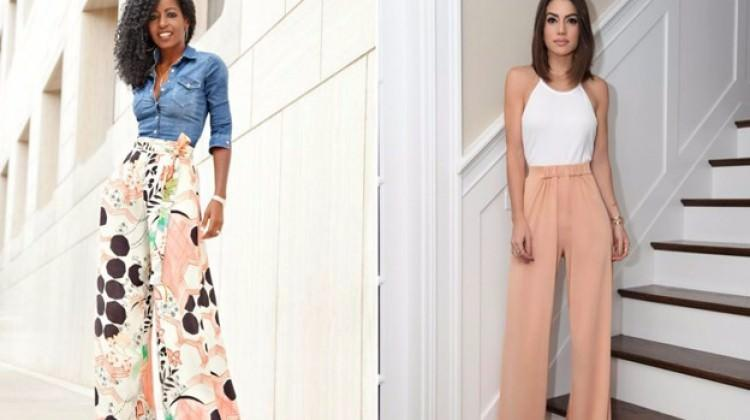 En şık Palazzo pantolon modelleri
