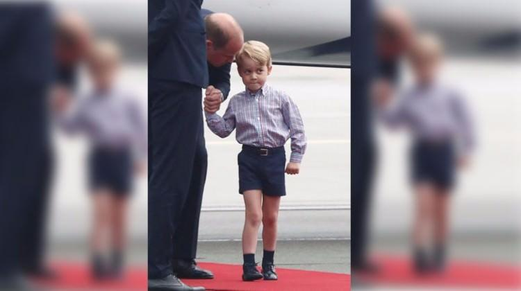 Prens George'un utangaç halleri
