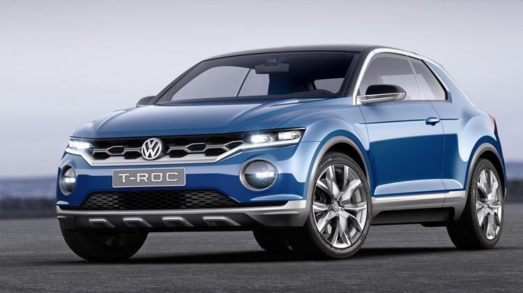 yeni volkswagen t roc crossover