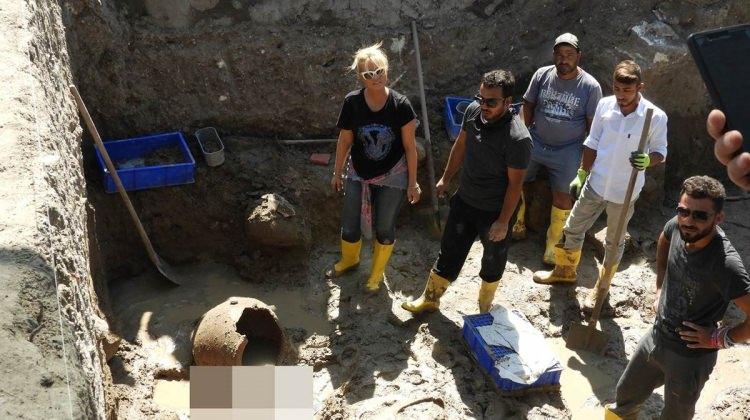 Müge Anlı, Enez'de arkeolojik kazıda
