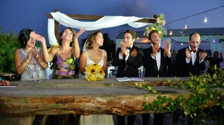 Seda Türkmen ve Bora Akkaş evlendi