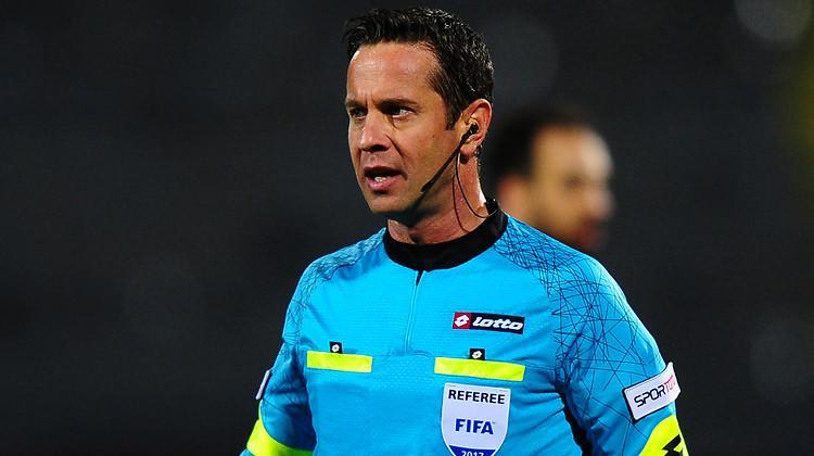 Halis Özkahya, Rusya - İsveç maçını yönetecek