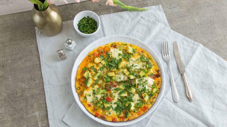 Avokadolu omlet tarifi