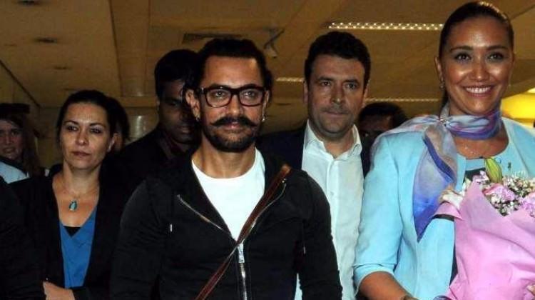 Bollywood yıldızı Aamir Khan İstanbul'da!