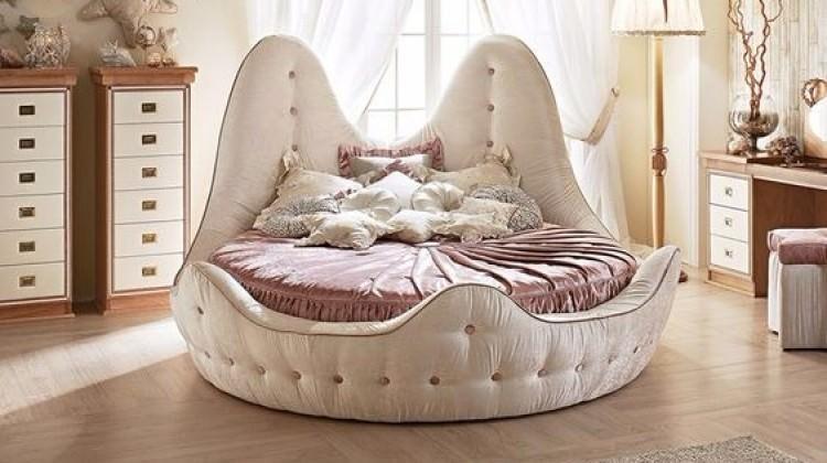 Yatak odasında yeni trend: Yuvarlak yataklar