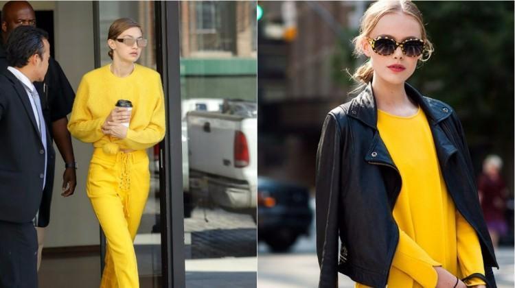 Sezonun sürpriz trendi: Sarı nasıl kombinlenir?