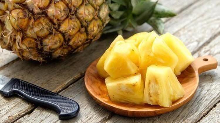 Vücutta ödemi attıran meyve: Ananas