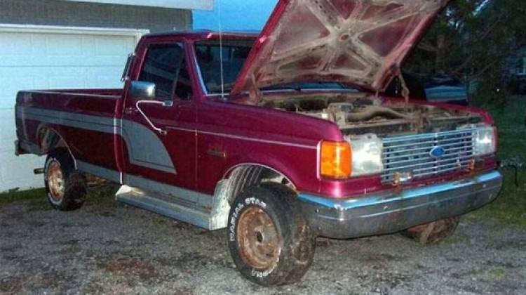 Yıkık dökük kamyonetin inanılmaz değişimi