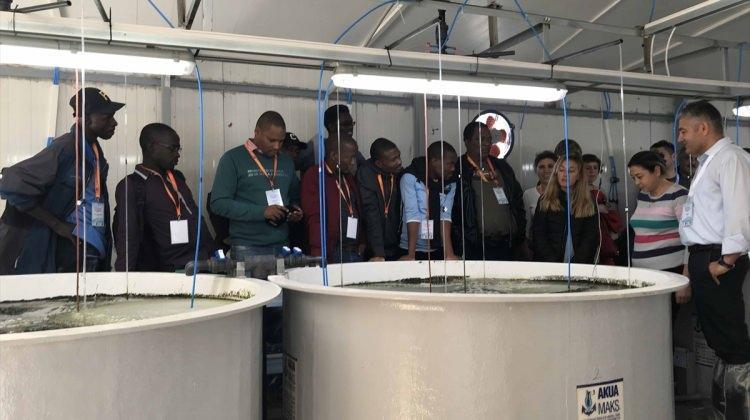 TİKA'dan Botsvanalı ve Gambiyalı uzmanlara balıkçılık eğitimi