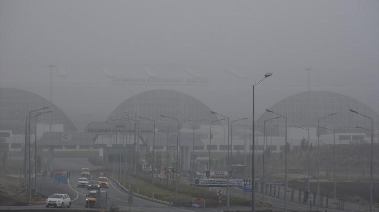 Güneydoğu'da sis etkili oldu