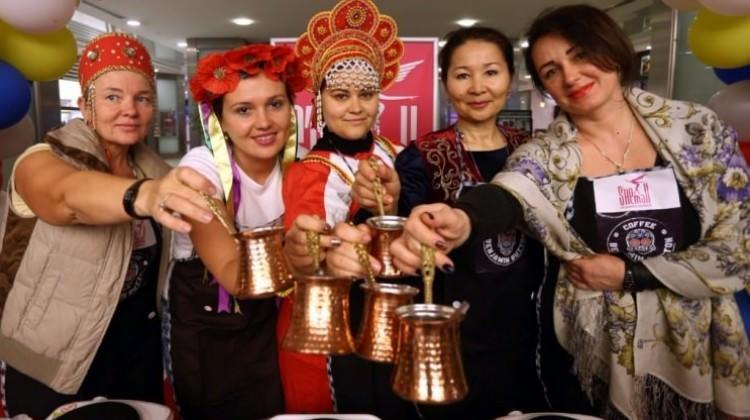 En iyi Türk kahvesini yapmak için yarıştılar!