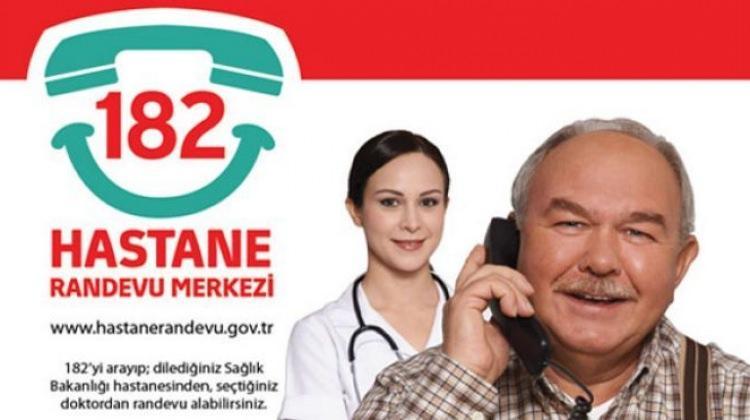 Hastane randevu iletişim