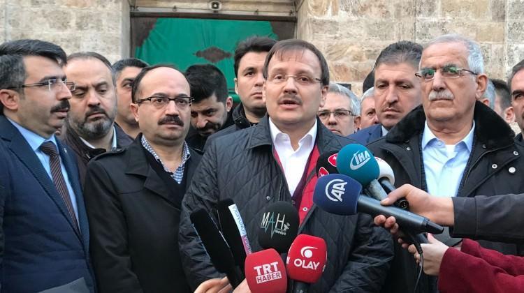 """Çavuşoğlu, """"Zeytin Dalı Operasyonu..."""""""
