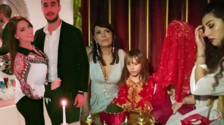 Yeşim Salkım'ın kızı Gizem'in kına gecesi yapıldı