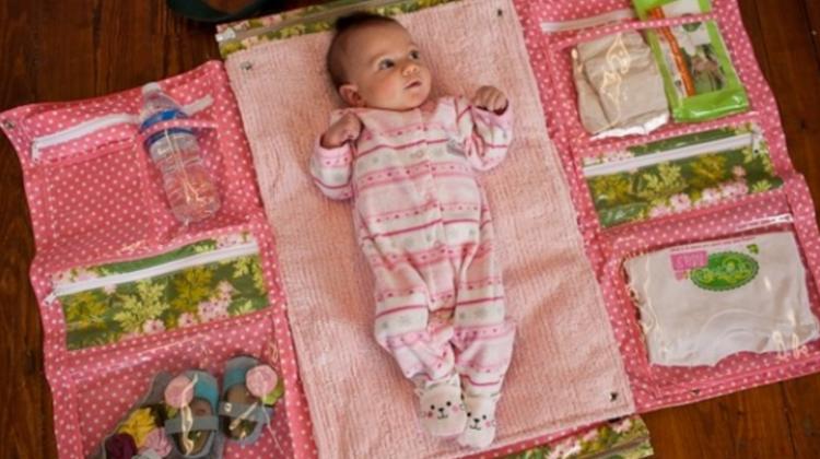 Bebek alt açma minder modelleri