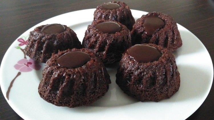 Muffin kalıbında brownie tarifi