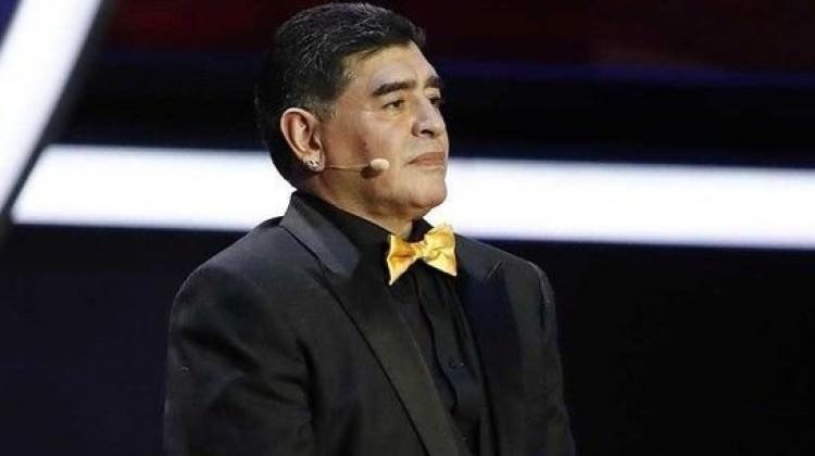 Trump'a hakaret eden Maradona'ya yasak!