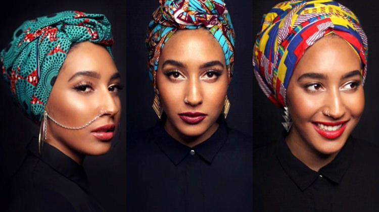 Batı'nın ilk Müslüman mankeni: Mariah Idrissi