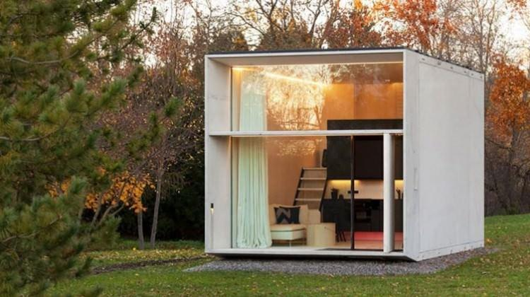 Tasarım harikası 25 metrekarelik ev