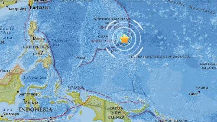 ABD'nin Guam Adası'nda şiddetli deprem!