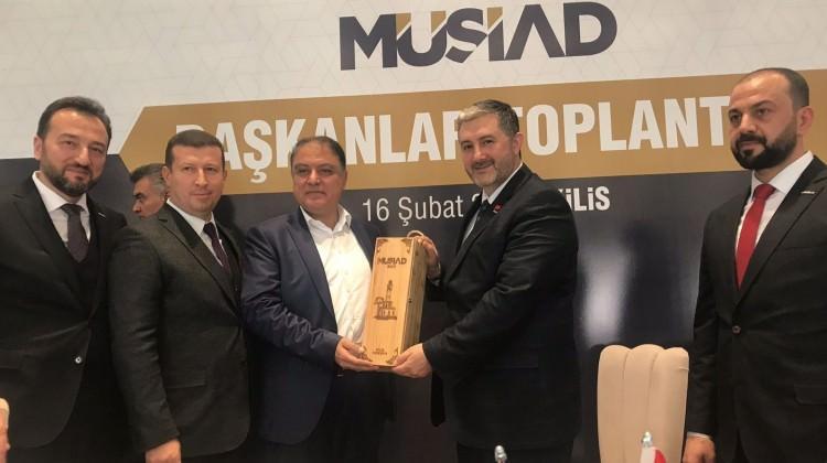 MÜSİAD, Afrin için Kilis'te toplandı
