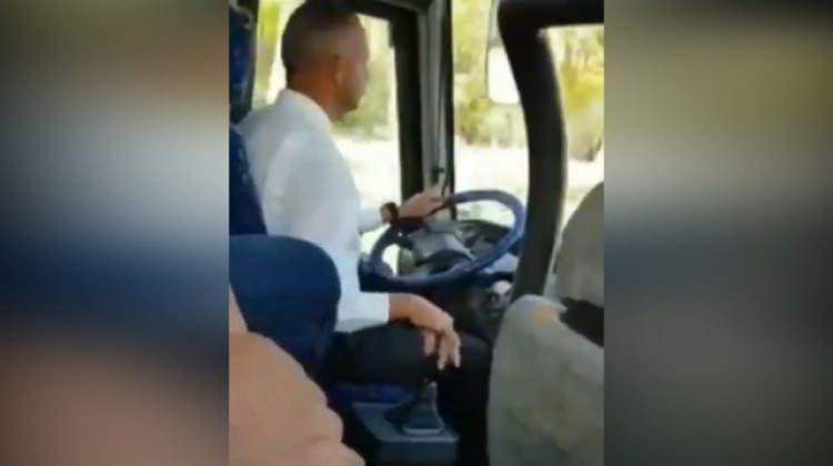 Dünyanın en kibar otobüs şoförü