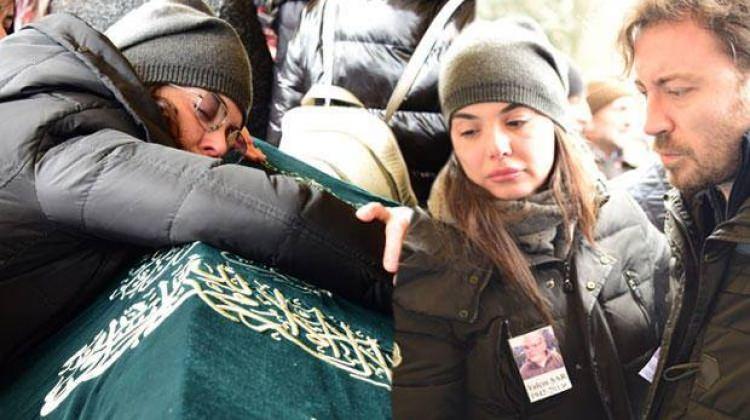Yeliz Şar'ın babası son yolculuğuna uğurlandı