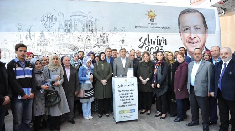 "AK Parti'nin ""Şehrim 2013"" projesi"