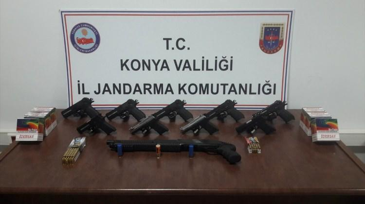 Eski asker silah kaçakçılığından gözaltına alındı
