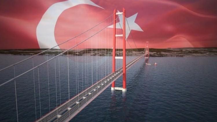 Dünyanın en büyük asma köprüsü olacak