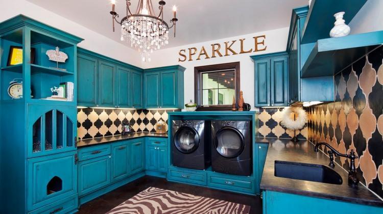 Çamaşır odalarına özel dekorasyon fikirleri