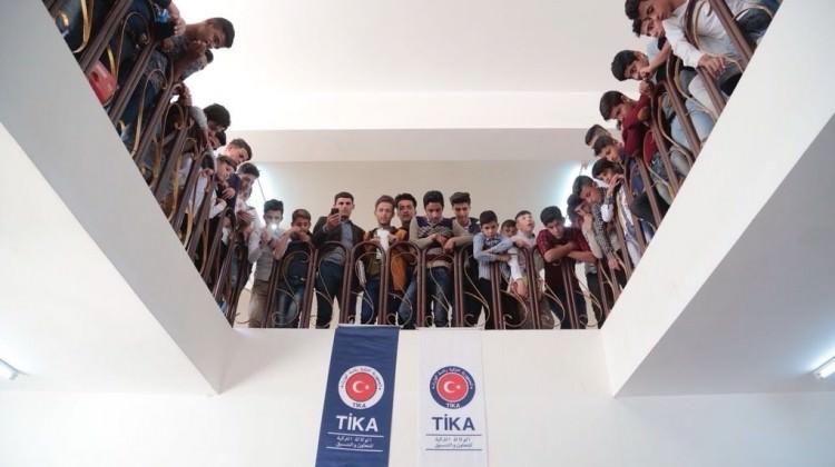 TİKA'dan Telafer'in Eğitim Altyapısına Destek