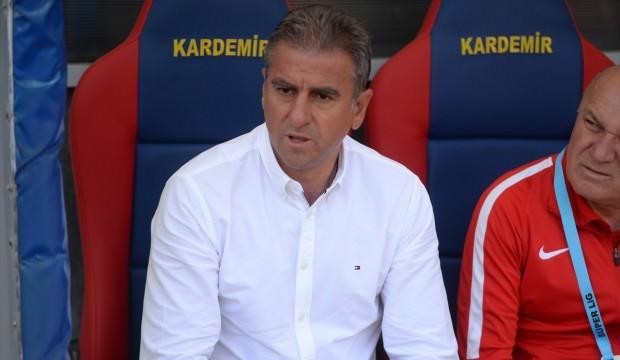 Hamzaoğlu'dan Karabük yorumu! 'İyi direniyorlar'
