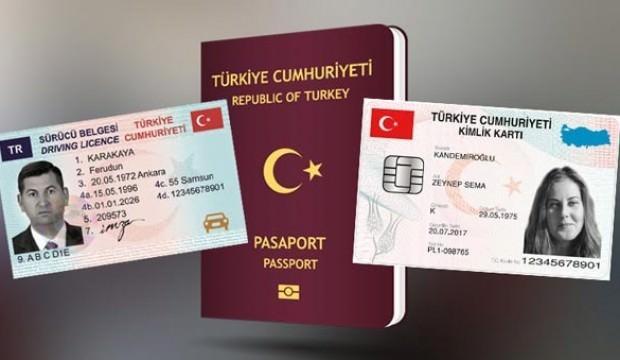 Kimlik, Pasaport, Sürücü belgesi alacaklar dikkat!