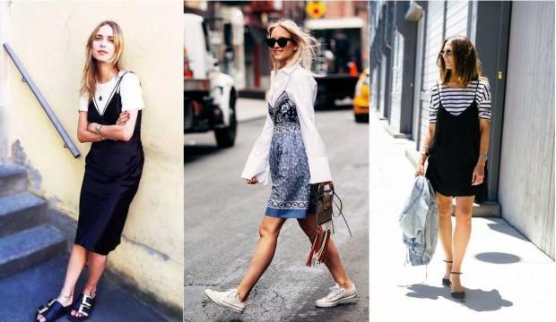 Slip elbiseler nasıl giyilir?