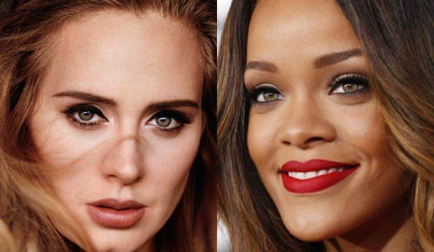 Adele: Rihanna'nın nefes kesici güzelliği vardı!