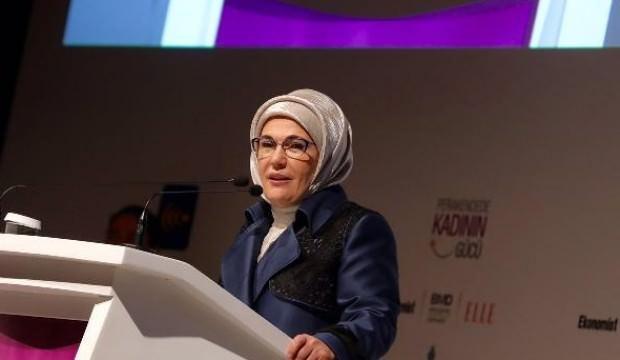 """Emine Erdoğan """"Kadının varlığı her alanda arttı"""""""