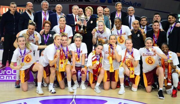 Galatasaray Avrupa şampiyonu oldu!