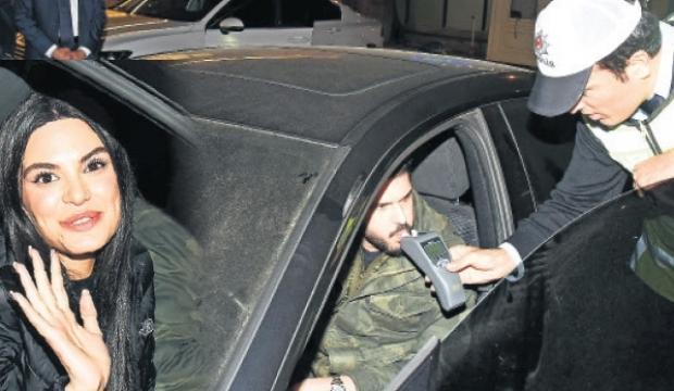 Tolgahan Sayışman ve eşi Almeda Abazi kaza yaptı
