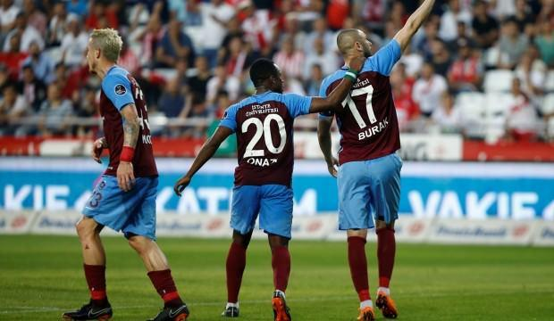 Trabzon, Avrupa yolunda Antalya'ya acımadı!