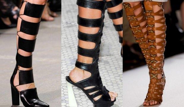 Gladyatör ayakkabı modası