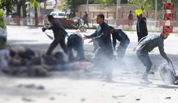 Afganistan'da çifte saldırı! Korkunç görüntüler