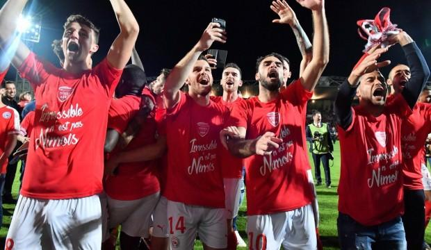 Umut Bozok'un takımı Ligue 1'e yükseld!