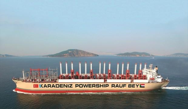 Türk enerji gemisi, Sudan'da elektrik üretimine başladı