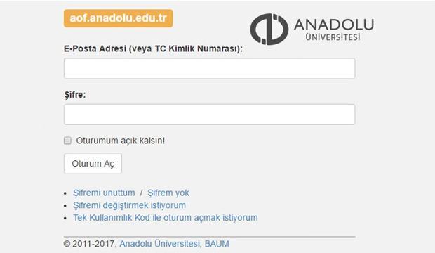 26 - 27 Mayıs AÖF bahar dönemi final sınav sonuçları öğrenme sayfası! - EĞİTİM Haberleri