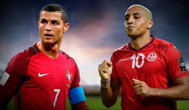 Portekiz - Tunus maçı bu akşam Ülke TV'de!