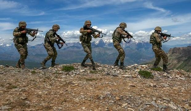 Ağrı Dağı'nda 5 terörist öldürüldü