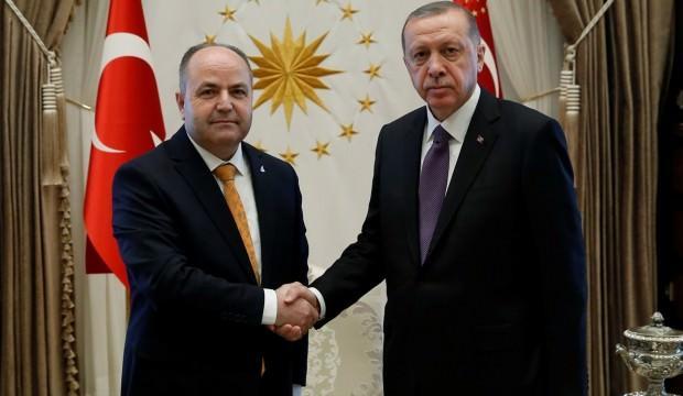 Anavatan Partisi lideri Erdoğan'ı ziyaret etti